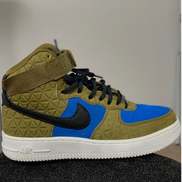 Nike Other - W Air Force 1 HI PRM Suede